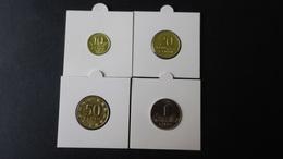 Lithuania - 2000/2007/2009 - 10,20,50 Cent + 1 Litas - KM 106-108,111 - Unc - Look Scans - Lituanie