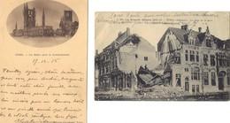 YPRES . 2 Cartes Postales écrites En 1915 . - Guerra 1914-18