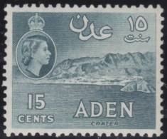 Aden     .       SG     .    53a     .      *       .      Ongebruikt   .    /    .   Mint-hinged - Aden (1854-1963)