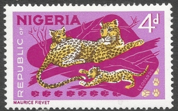 Nigeria. 1965-66 Definitives. 4d MH. P14X13½ SG 177a - Nigeria (1961-...)