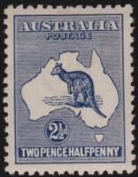 Australia     .       SG     .     36b         .      *       .      Ongebruikt   .    /    .   Mint-hinged - 1913-48 Kangaroos