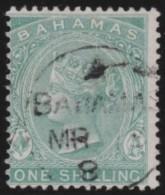 Bahamas      .       SG     .      39     .       O        .    Gebruikt    .    /    .     Cancelled - Bahamas (...-1973)