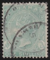 Bahamas      .       SG     .      39b     .       O        .    Gebruikt    .    /    .     Cancelled - Bahamas (...-1973)
