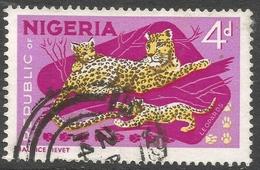 Nigeria. 1965-66 Definitives. 4d Used. P14X13½ SG 177a - Nigeria (1961-...)