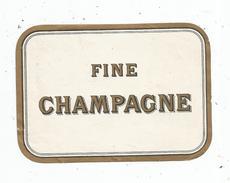 étiquette , FINE CHAMPAGNE - Etiquettes