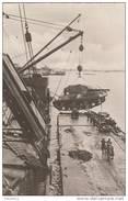 X414 GUERRE 39 - 45  DE TUNIS A SIENNE DEBARQUEMENT DANS UN PORT ITALIEN D'ELEMENTS BLINDES FRANCAIS 2 SCANS - Guerra 1939-45