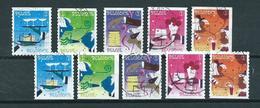 2010 Belgium Complete Set Festival Booklet Stamps Used/gebruikt/oblitere - België