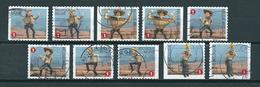 2009 Belgium Complete Set Comics,cartoons Booklet Stamps Used/gebruikt/oblitere - België