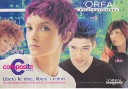 """CARTOLINA PROMOCARD PUBBLICITARIA """"L'OREAL""""  PC 1071 - Advertising"""