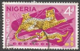 Nigeria. 1969-72 Definitives. Enschede Printing. 4d Used. SG 232 - Nigeria (1961-...)