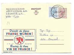 FM85 - BELGIO    . Briekaart  VIN DE FRANCE - Vini E Alcolici