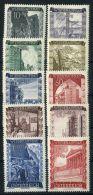 AUTRICHE ( POSTE ) : Y&T N°  712/721  TIMBRES  NEUFS  AVEC  TRACE  DE  CHARNIERE , ROUSSEUR , A  VOIR . - 1945-60 Neufs