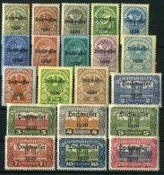 AUTRICHE ( POSTE ) : Y&T N°  232/251  TIMBRES  NEUFS  AVEC  TRACE  DE  CHARNIERE , ROUSSEUR , A  VOIR . - 1918-1945 1ère République