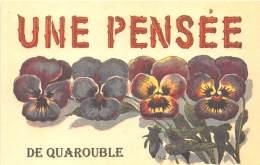 59 - NORD / Fantaisie Moderne - CPM - Format 9 X 14 Cm - QUAROUBLE - France