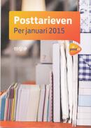 Nederland - Postnl - Brochure Tarievenlijst Januari 2015 - 8 Pagina's - Nieuw Exemplaar - Postal Rates