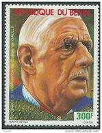 Bénin  N° 701 XX Centenaire De La Naissance Du Général De Gaulle,  Sans Charnière, TB - Benin - Dahomey (1960-...)
