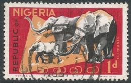 Nigeria. 1969-72 Definitives. NSP&M Co Printing. 1d Used. SG 220 - Nigeria (1961-...)