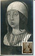 19861 Spain, Maximum 1951 The Queen Isabella The Catholic,  Isabel La Catolica - Maximum Cards