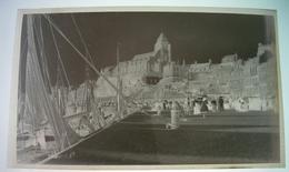 Vues Diverses De Le Tréport (à Confirmer) Seine Maritime 76  - 3 Négatifs Souples De Photos Anciennes - Diapositives