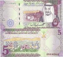 Saudi Arabia 5 Riyals 2016. UNC - Arabie Saoudite