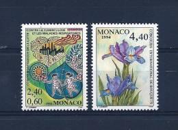 Monaco Timbres De 1994  N°1931 Et N°1932  Neuf ** - Monaco