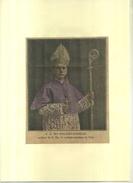 S.G. Mrg ROLAND-GOSSELIN . REPRO DE PHOTO COULEURS DECOUPEE ET COLLEE SUR PAPIER . - Religion & Esotérisme