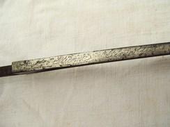 Lame De Baionnette Chassepot Modèle 1866 - Knives/Swords