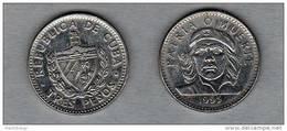 CUBA - 1995 - 3 Pesos Che Guevara Bella Moneta In Condizioni Spl - Cuba