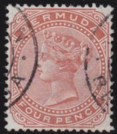 Bermuda      .       SG     .     28a         .       O        .    Gebruikt    .    /    .     Cancelled - Bermuda