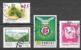 Taiwan - Lot 1 -  Oblitérés - 1945-... República De China