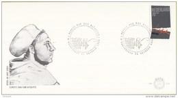 E212 - 500e Geboortedag Maarten Luther (1983) - NVPH 1294 - FDC