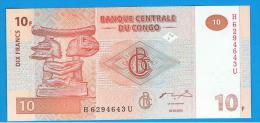 CONGO - 10 Francs 2003 SC P-93 - Congo