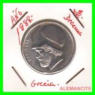 GRECIA  -  GREECE  -  MONEDA DE  20 DRACHMAI   - AÑO 1988   Copper-Nickel,  29 Mm - Grecia