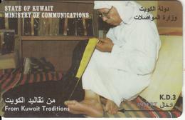 KUWAIT(GPT) - Bisht Making, CN : 36KWTK/B(normal 0), Used - Kuwait