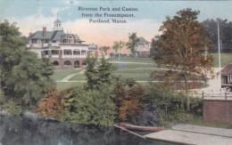 MaIne Portland Riverton Patk and Casino Curteich