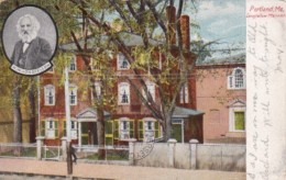 MaIne Portland The Longfellow Mansion 1906