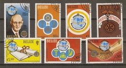 Belize - 1981 - Rotary - Série Complète ° - YT 512/18 - Belize (1973-...)