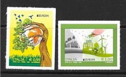 2016 - Europa 2016 - Città E Albero - Serie Completa - Nuovi ** Adesivi - 2011-...:  Nuovi