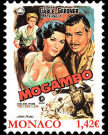 Monaco 2017 Set - Grace Kelly Movies - Mogambo - Nuevos