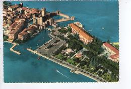 U233 Cartolina Del Lago Di Garda - Sirmione (Brescia) Veduta Aerea, Aerial View, Vue Aerienne _ CIRCOLATA 1962 - Altre Città