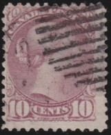 Canada     .       SG     .    88   P. 12   .         O       .          Gebruikt   .    /    .   Cancelled - 1851-1902 Regering Van Victoria