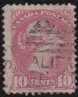 Canada     .       SG     .    109    .         O       .          Gebruikt   .    /    .   Cancelled - 1851-1902 Regering Van Victoria