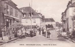 MOUCHARD  ROUTE DE LA GARE  (chloé13) - Autres Communes
