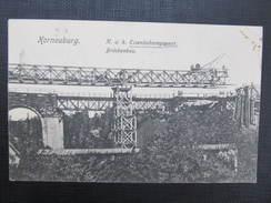 AK KORNEUBURG Eisenbahnregiment  /// D*23157 - Korneuburg