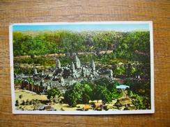 Cambodge , Vue Générale Du Temple D'angkor-vat - Cambodia