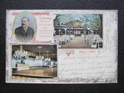 AK WIEN II. PRATER Domansky Restaurant 1905 /// D*23163 - Prater