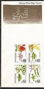 J) 1986 SWAZILAND, PTEROCARPUS ANGOLENSIS, SCLEROCARYA BIRREA, CUSSONIA SPICATA THUNB, ERYTHRINA LYSISTTEMON TREES, FDC - Swaziland (1968-...)