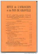 Revue De L´Avranchin Et Du Pays De Granville - Mortain, Avranches - Décembre 1999 N°381 - Manche - Normandie - Normandie