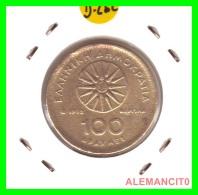 GRACIA  -  GREECE -  MONEDA DE  100  DRACHMES - AÑO 1992  -  Aluminum-Bronze, 29.5 Mm - Grecia
