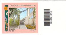 ITALIA 2014 SALERNO GIARDINO DELLA MINERVA - CODICE BARRE - 1946-.. République